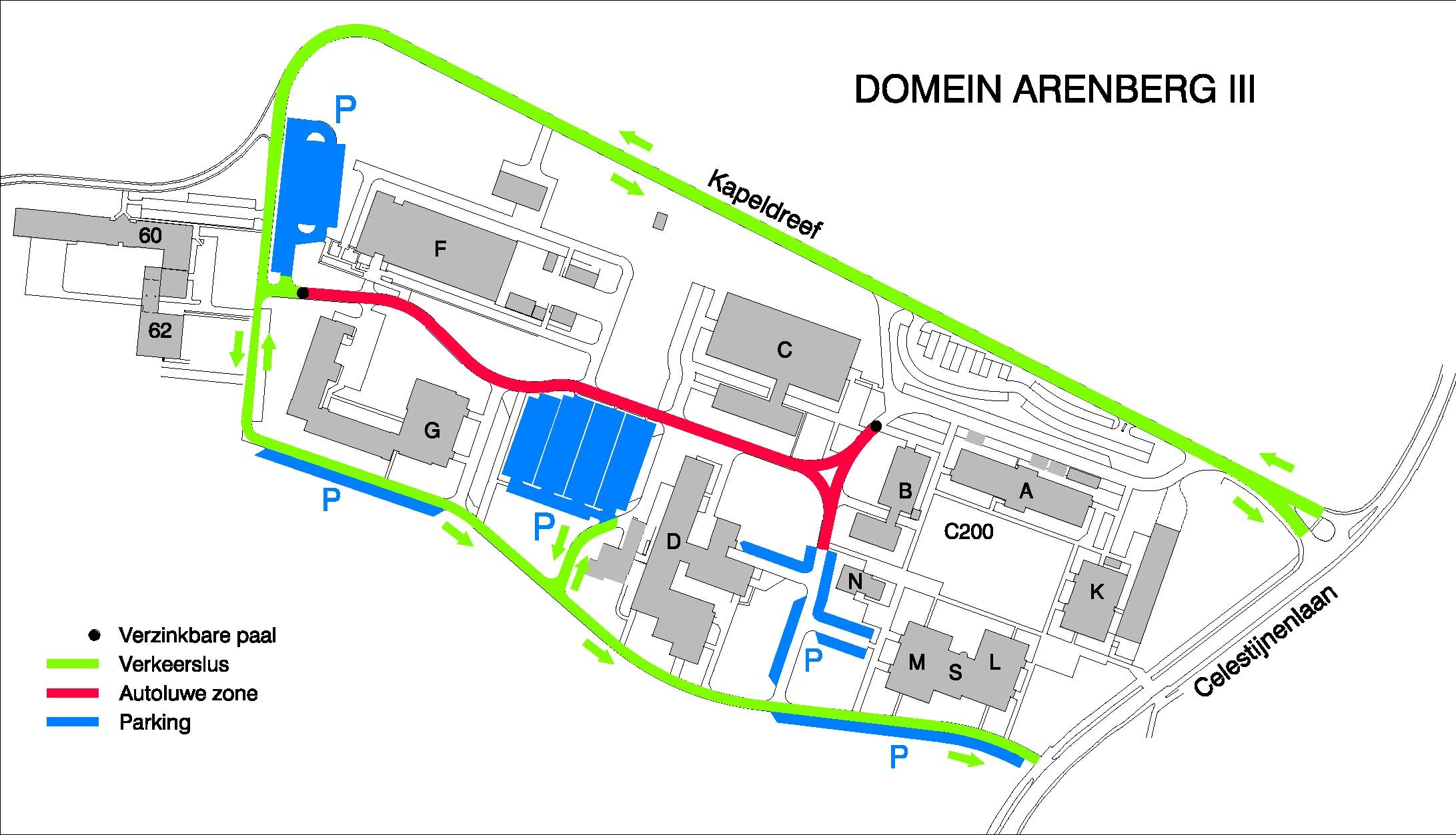 ku leuven campus map How To Get To The Department Department Of Mathematics ku leuven campus map